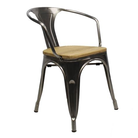Tolix Armchair by Tolix Armchair Metal Shipped Within 24 Hours Furnwise
