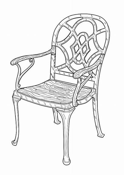 Coloring Furniture Pages