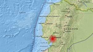 Ecuador  Sismo De 6 2 Grados Sacudi U00f3 Guayaquil Y Otras Localidades