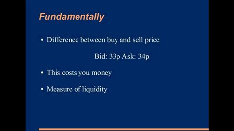 spread bid ask bid ask spread explained