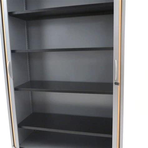 armoire bureau rideau armoire à rideaux finition hetre