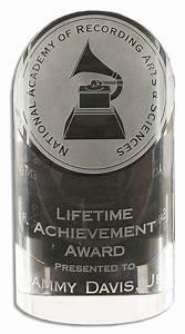 Lot Detail - Sammy Davis Jr. Lifetime Achievement Grammy ...