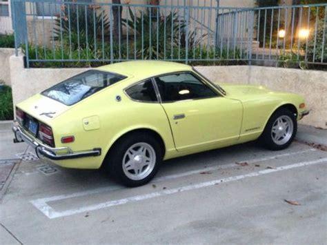 Buy Datsun 240z by Buy Used Datsun 1971 240z Original Owner In Nuys