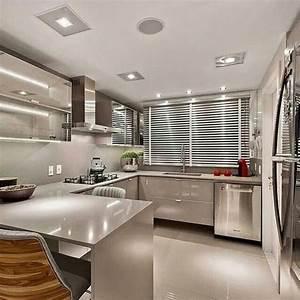 30, Inspiring, Modern, Luxury, Kitchen, Design, Ideas