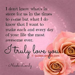 Romantic Love Quotes For Her | Quote Addicts