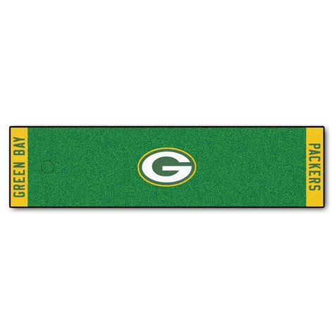 home depot green bay fanmats nfl green bay packers 1 ft 6 in x 6 ft indoor 1