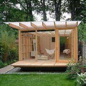 HOME DZINE Garden A garden shed, hut or wendy house as a