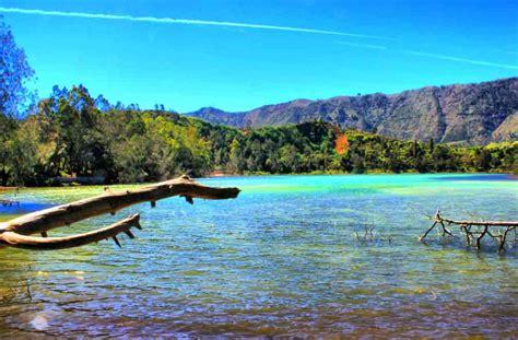 telaga warna dieng tempat wisata alam  dieng wonosobo