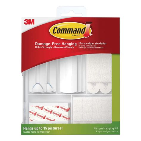 home depot hanging ls command picture hanging kit 17213 es the home depot