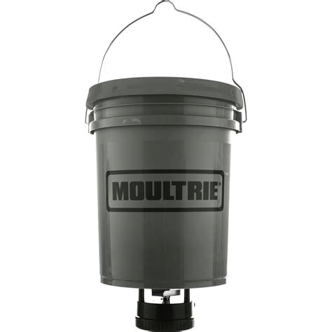Moultrie Hanging Feeder by Moultrie Standard Hanging Deer Feeder 5 Gal Mfg 13266 B H