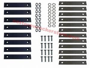 Jerr Dan Carrier Wear Pad Kit Part  9577650071  Fits Super
