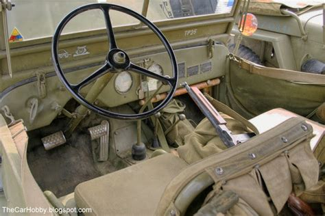 willys jeep interior spotted 1941 willys ma jeep the car hobby