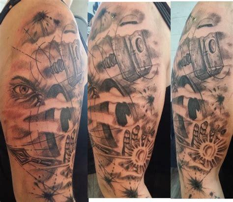 Rock N Roll Images Tattoo Bras Femme