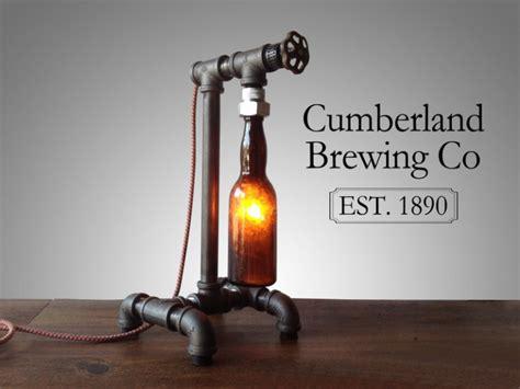 steam bottle industrial diy pipe l id lights
