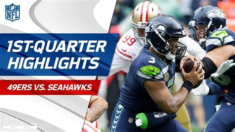 ers  seahawks  quarter highlights nfl week
