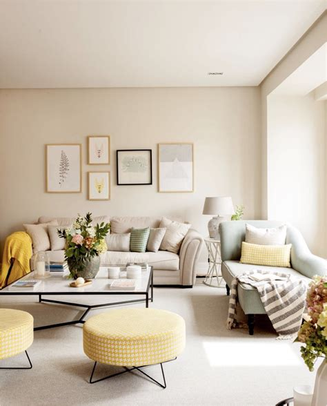 Shop the top 25 most popular 1 at the best prices! Pin by Seng Chi Ao on America Modern Interior | Beige living rooms, Yellow walls living room ...