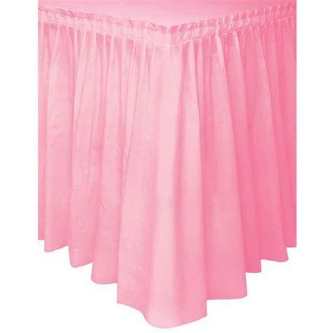 cloth table skirts walmart three tier ruffled burlap table skirt walmart com