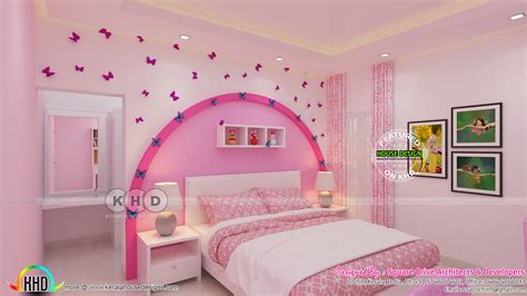 Kid Bedroom Design Photos by Kid Bedroom And Master Bedroom Interior Kerala Home
