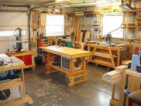 woodworking shops images  pinterest workshop