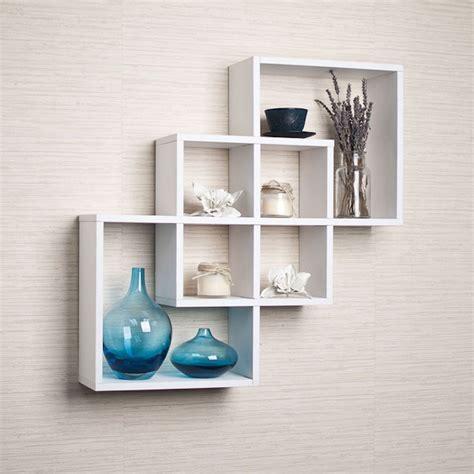 White Wall Shelf Unit by Wall Shelves And Ledges Shelving Unit Knick Knack Display