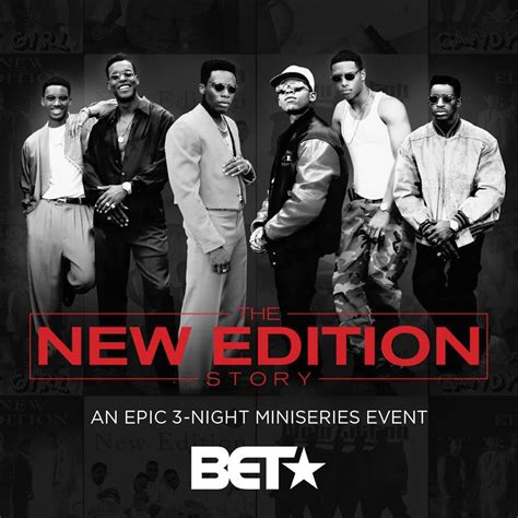 Johnny Gill Can You Stand The Rain by New Trailer Premiere Bet S The New Edition Story
