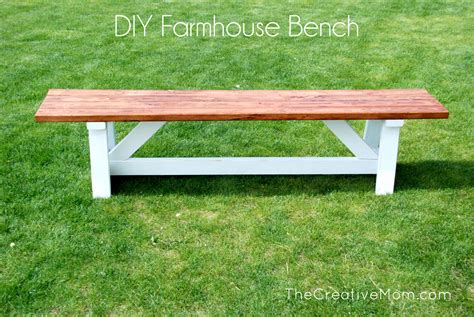 How To Build A Bench  The Creative Mom