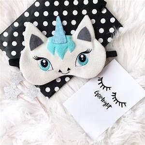 Masque De Nuit : masque de sommeil licorne sommeil masque yeux masque de ~ Melissatoandfro.com Idées de Décoration