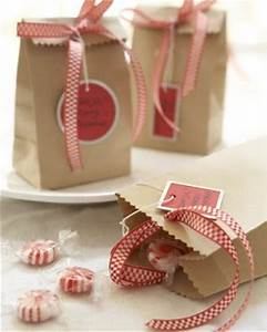 Gift Packaging Ideas Craft Paper Bag with Ribbon