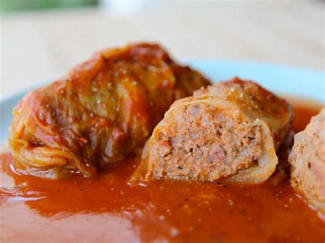 stuffed cabbage stuffed cabbage leaves delicious savory recipe video tori avey