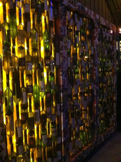 wine bottle wall ideas images  elizabeth roberts