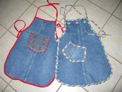 Tuto Tablier De Cuisine En Jean by One Pair Of Quot Mommy Jeans Quot 4 Aprons Part 2 183 How To Make A