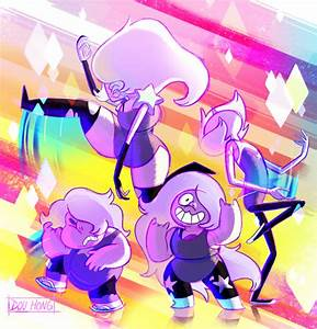 Steven Universe: Amethyst and the Amethysts! by dou-hong ...