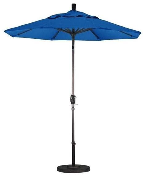 california umbrella 7 5 market patio umbrella blue