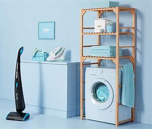 Waschmaschine Abdeckung Holz : waschmaschinen regal bei tchibo ~ Lizthompson.info Haus und Dekorationen