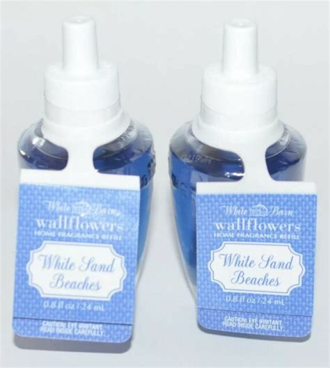 sand refill plug beaches works bath body wallflower fragrance bulb lot