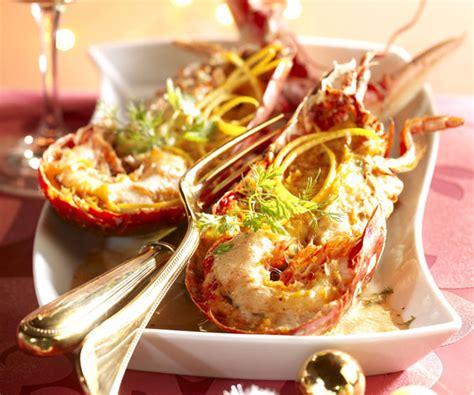 cuisiner un homard congelé recette de fête homard à l orange
