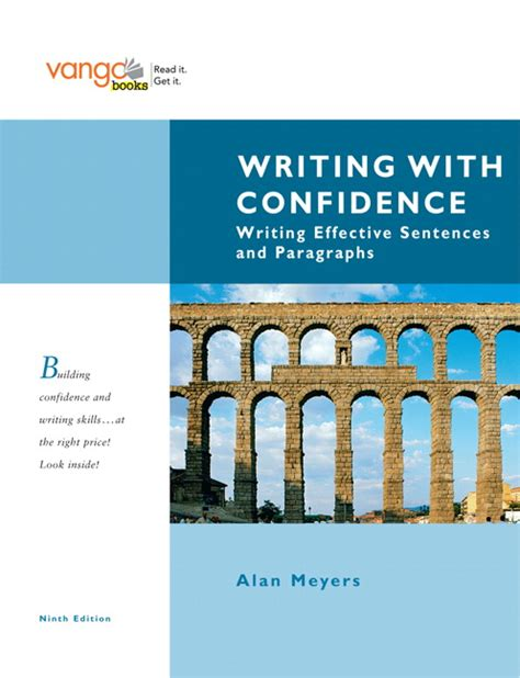 meyers exam copy for writing with confidence writing