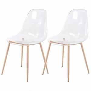 But Chaise Transparente : chaise fredrik transparente lot de 2 choisissez nos ~ Teatrodelosmanantiales.com Idées de Décoration