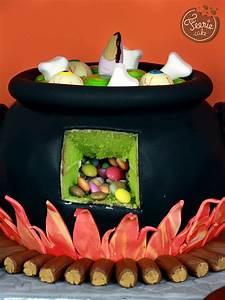 Gateau D Halloween : le chaudron surprise d 39 halloween f erie cake ~ Melissatoandfro.com Idées de Décoration