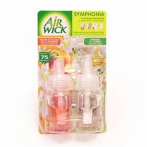 Recharges pour diffuseur symphonia peche passion fleur de for Déco chambre bébé pas cher avec fleur diffuseur de parfum