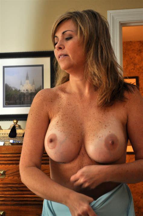 Milf With Freckled Tits Pornhugocom