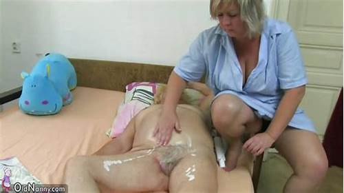 Deepthroat Toying Fine With Grey Haired #Mature #Woman #Using #Dildo #On #Chubby #Granny
