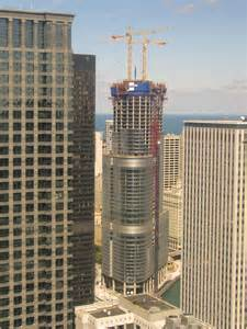Trump Tower Chicago Construction