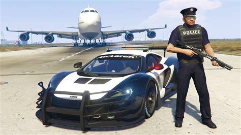 Play As A Cop Mod!! Gta 5 Police Mclaren