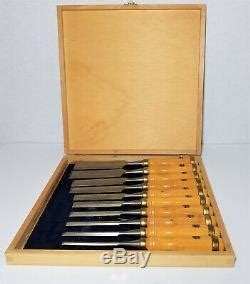 freud professional woodworking chisel set  piece wc