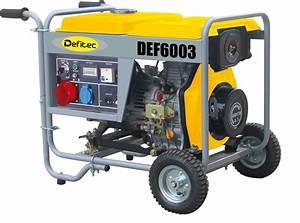 Groupe electrogene diesel 5 500 w tripha