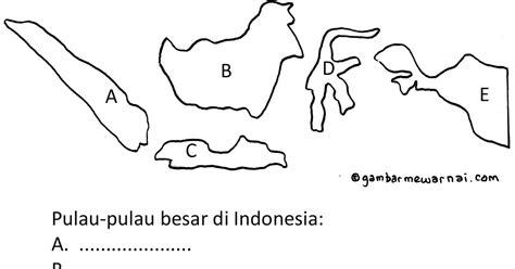 gambar peta indonesia mewarnai koleksi gambar hd