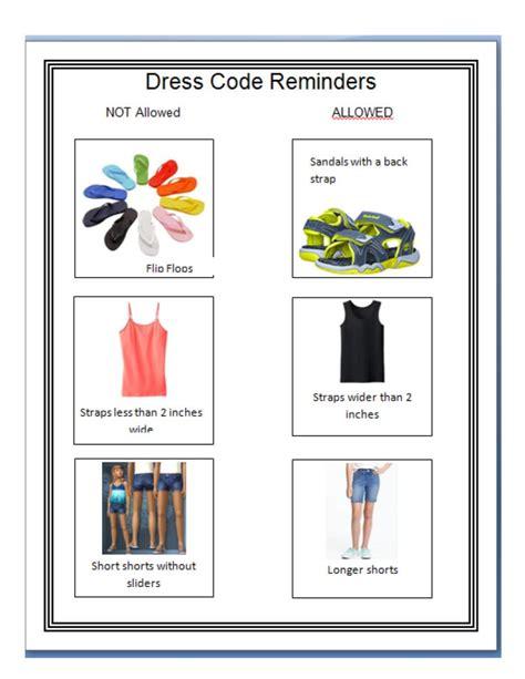 Elementary Dress Code by Dress Code Bristol Schools