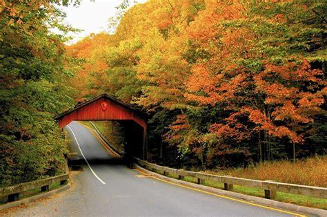 fall michigan drives foliage traverse america coast visit scenic scenery door county bridges gold wallpapers through season hd autumn road