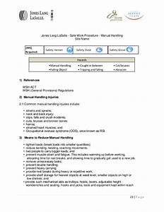beautiful manual handling policy template gift resume ideas namanasa
